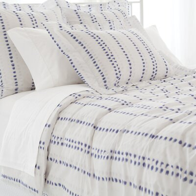 Ink Dots Duvet Cover Size: King
