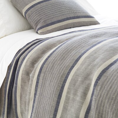 Morocco Duvet Cover Color: Indigo, Size: Twin