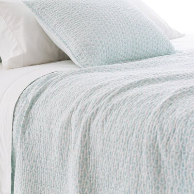 Tyler Quilt Size: King, Color: Sky