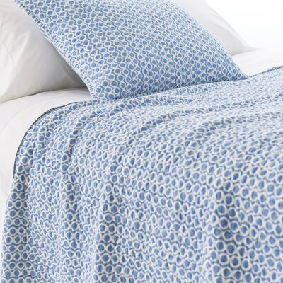 Tyler Quilt Size: Twin, Color: French Blue