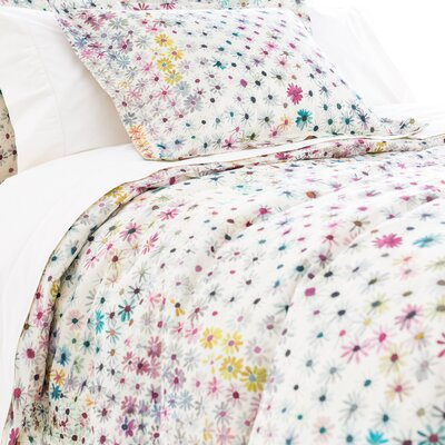 Wallflower Duvet Cover Size: Twin