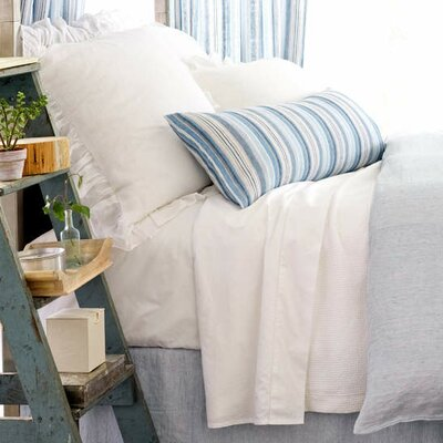 Interlaken Matelasse Coverlet Size: King, Color: White
