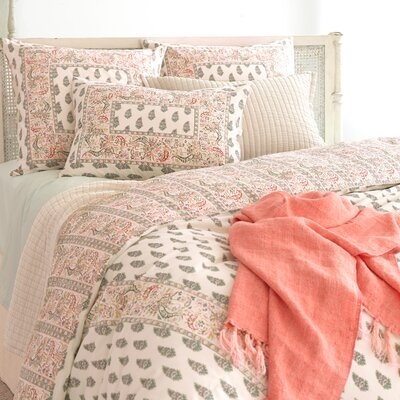 Boyfriend Matelasse Coverlet Size: Queen, Color: Ivory