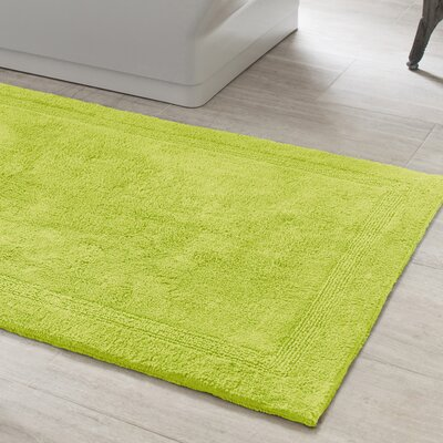 Signature Green Bath Rug Size: 32 x 64