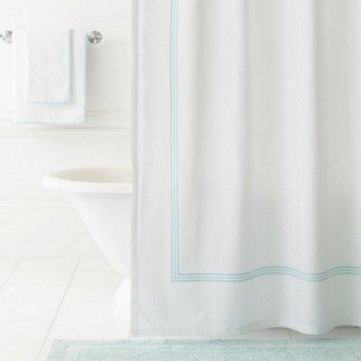 Trio Shower Curtain Color: Sky