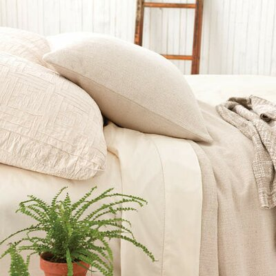Baja Matelasse Coverlet Size: Twin, Color: Ivory