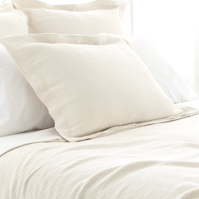 Interlaken Matelasse Sham Size / Color: Euro / Ivory