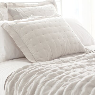 Brussels Quilted Sham Size: King