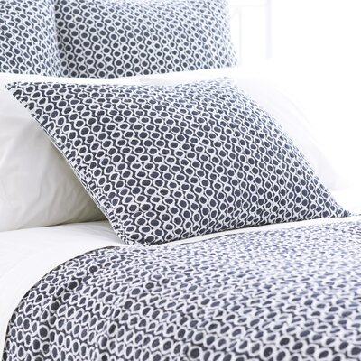 Tyler Quilted Sham Size: European, Color: Indigo