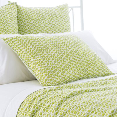 Tyler Quilted Sham Size: European, Color: Green