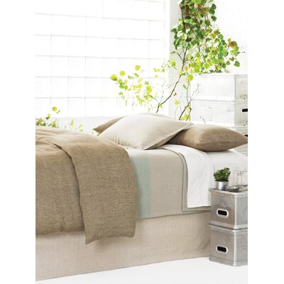 Zen Cotton Bed Skirt Size: Queen