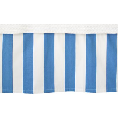 Alex Bed Skirt Size: Twin, Color: French Blue