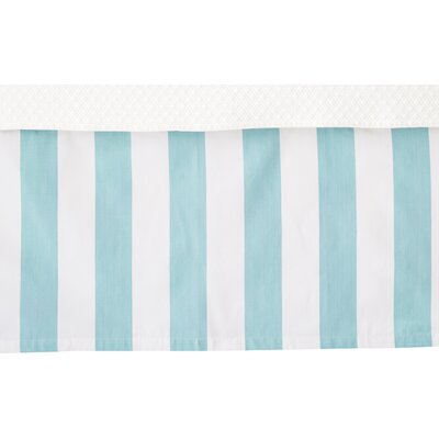 Alex Bed Skirt Color: Sky, Size: Twin