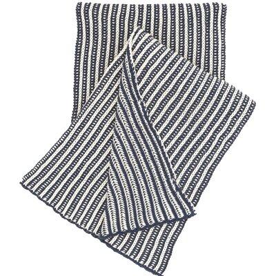 Cozy Knit Cotton Throw Color: Indigo