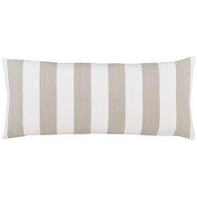 Alex Lumbar Pillow Color: Pearl Gray