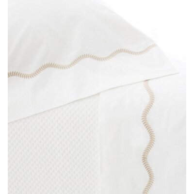 Petite Vine Pillow Case Size: King, Color: Linen