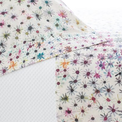 Wallflower 200 Thread Count 100% Cotton Sheet Set Size: Twin