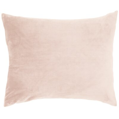 Selke Fleece Throw Pillow Color: Slipper Pink