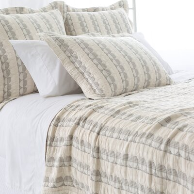 SoHo Matelasse Coverlet Size: King