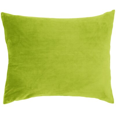 Selke Fleece Throw Pillow Color: Green