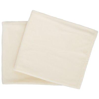 Selke Fleece Throw Blanket Color: Ivory