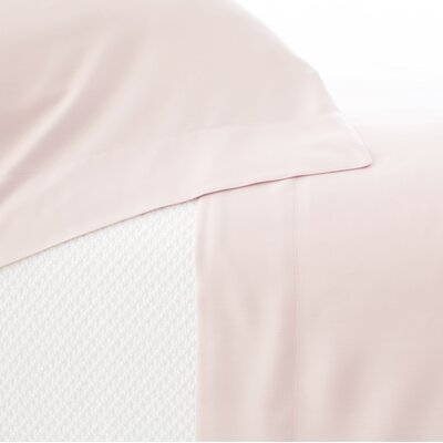 Silken Solid Pillow Case Size: King, Color: Slipper Pink