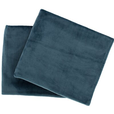 Selke Fleece Throw Blanket Color: Juniper