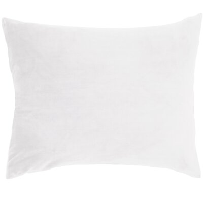 Selke Fleece Throw Pillow Color: White