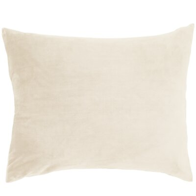 Selke Fleece Throw Pillow Color: Ivory