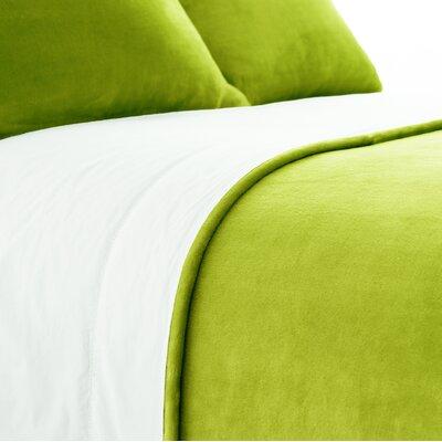 Selke Dusty Sham Size: European, Color: Green