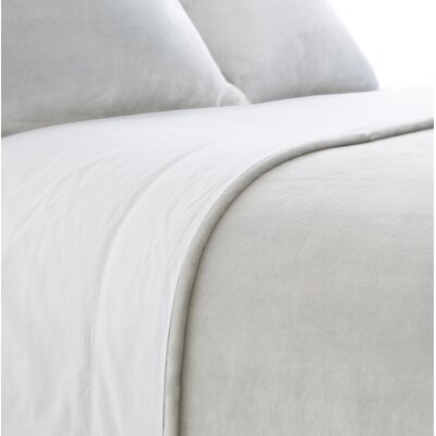 Selke Dusty Sham Size: Standard, Color: Pearl Gray