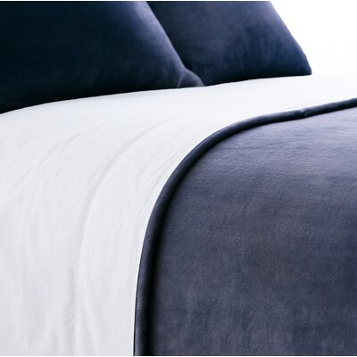 Selke Dusty Sham Size: Standard, Color: Indigo