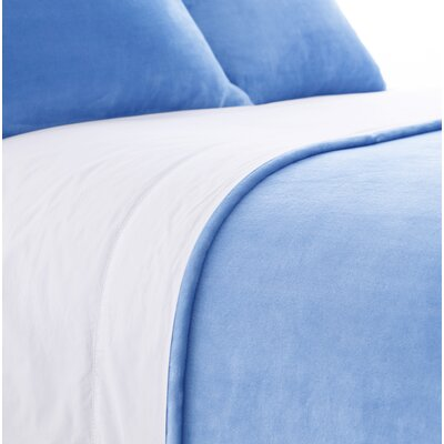 Selke Dusty Sham Size: European, Color: French Blue