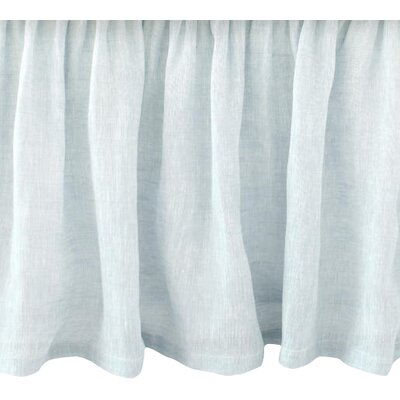 Savannah Linen Bed Skirt Size: Twin