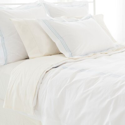 Trio Duvet Cover Size: Twin, Color: Sky