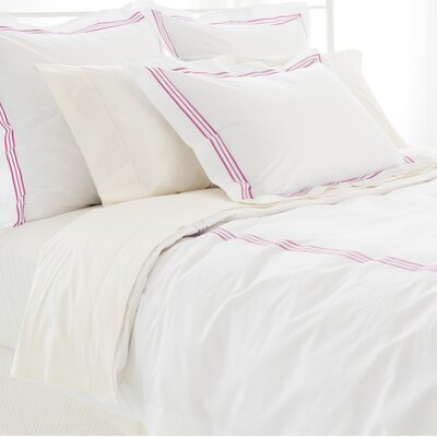 Trio Duvet Cover Size: Full/Queen, Color: Fuchsia