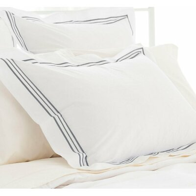 Trio Pillow Case Size: King, Color: Shale