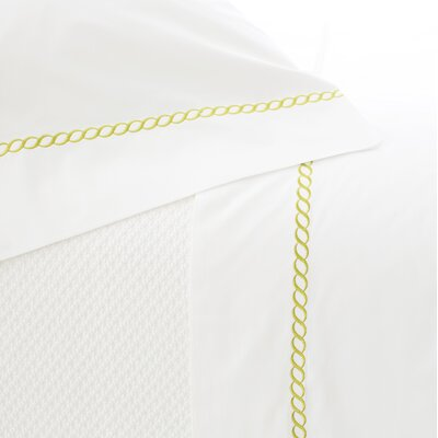 Helix Pillowcase Size: Standard, Color: Green