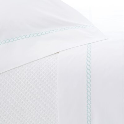 Helix Pillowcase Size: King, Color: Sky