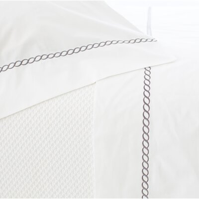 Helix Pillowcase Size: King, Color: Shale