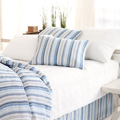 Honfleur Linen Duvet Cover Size: Full / Queen