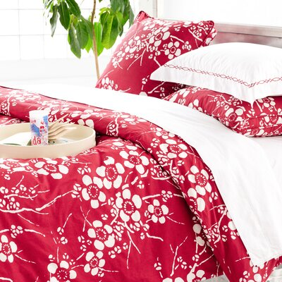 Kiyoko Red Bedding Collection