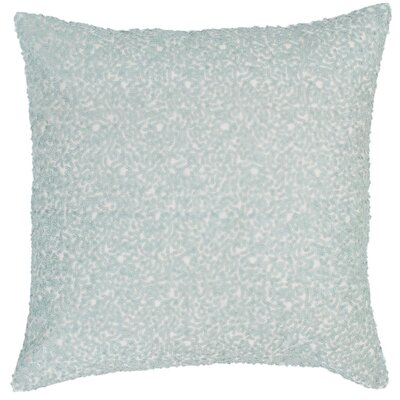 Glaze Sequin Throw Pillow Color: Robin's Egg Blue