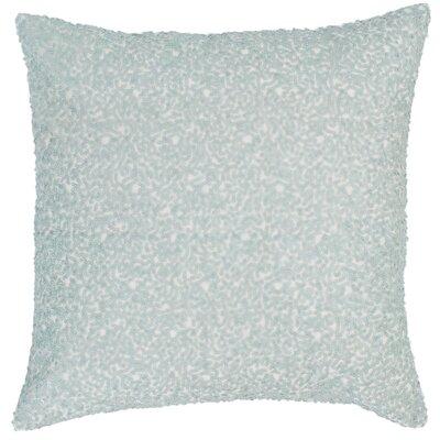 Glaze Sequin Throw Pillow Color: Robins Egg Blue