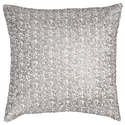Glaze Sequin Throw Pillow Color: Gray