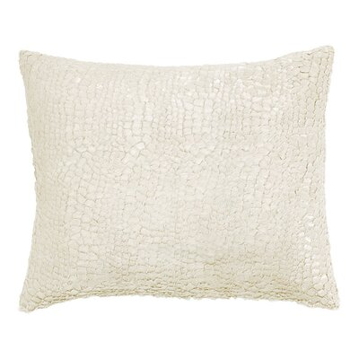 Artisanal Gloss Lumbar Pillow Color: Ivory