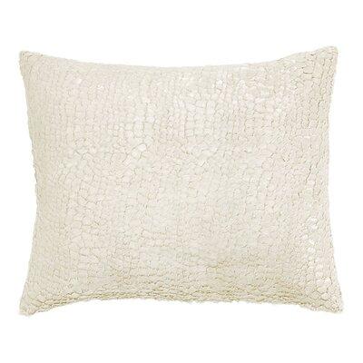 Artisanal Gloss Lumbar Pillow Color: Ivory