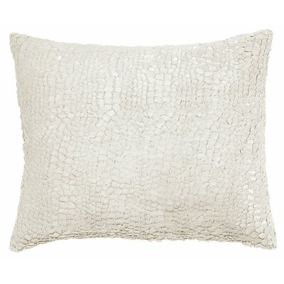 Artisanal Gloss Lumbar Pillow Color: Gray