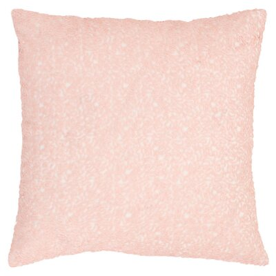 Glaze Sequin Throw Pillow Color: Slipper Pink