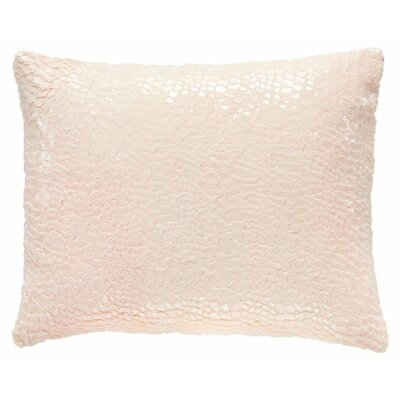 Artisanal Gloss Lumbar Pillow Color: Slipper Pink